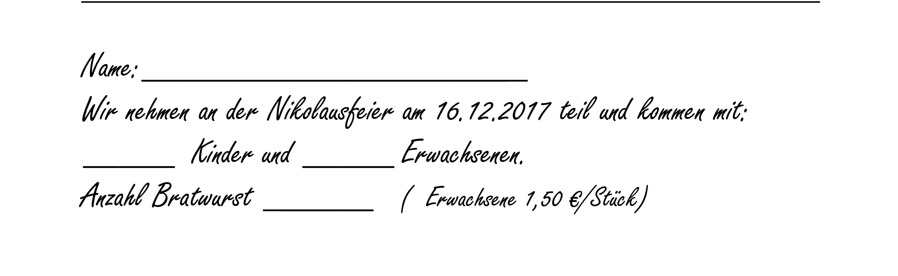 Einladungsschnipsel