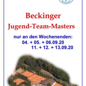 Jugend-Team-Masters 2020 im September